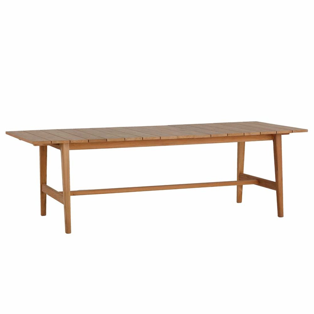 Coast Dining Extension Table - Dimensions: W39.5 D94.375 H29.75