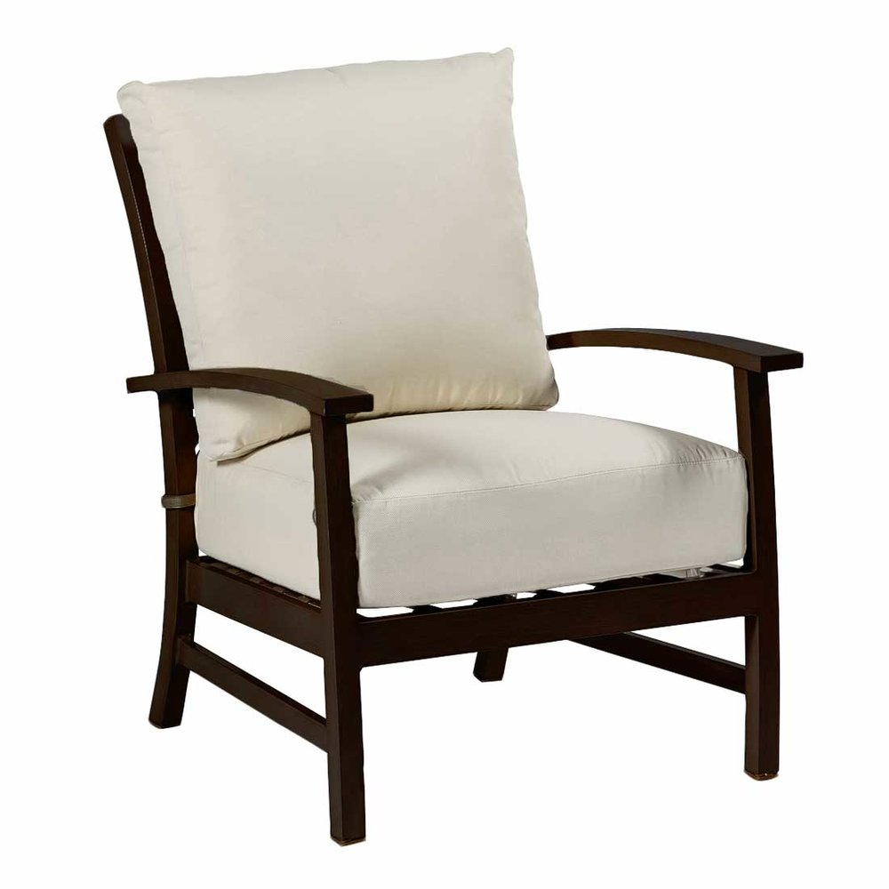 charleston aluminum lounge chair - Dimensions: W30.5 D36.13 H37.75