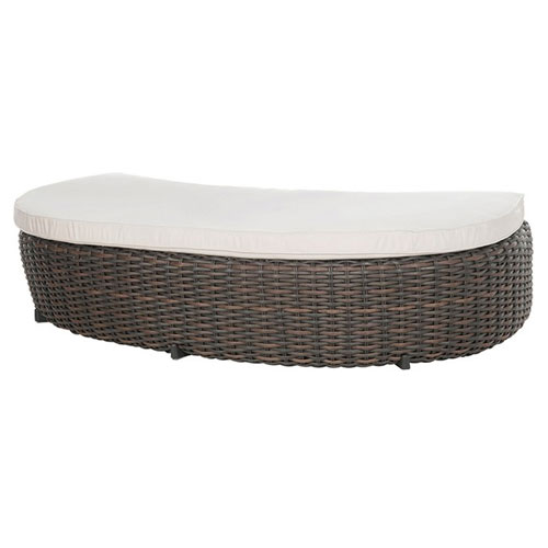 Dreux Daybed Ottoman - Dimensions: W71 D36 H13.5