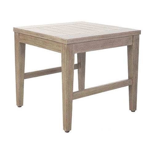 Portofino Square End Table - Dimensions: W22 D32 H20