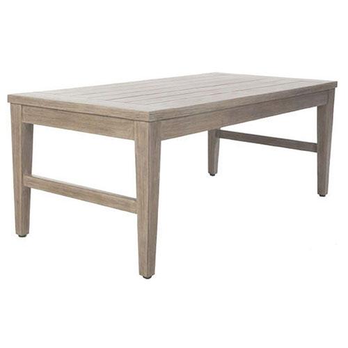 Portofino Coffee Table - Dimensions: W45.75 D23 H20