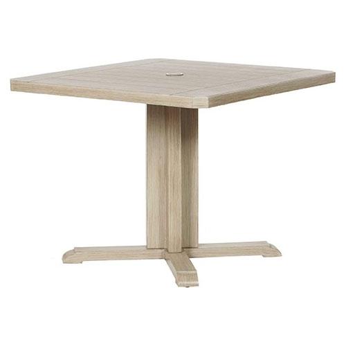 Portofino Square Dining Table - Dimensions: W36 D36 H29
