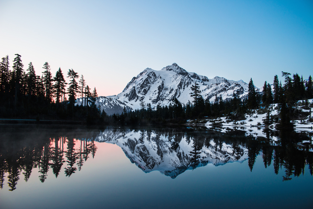 mountain reflection washington thisworldexists alex powell