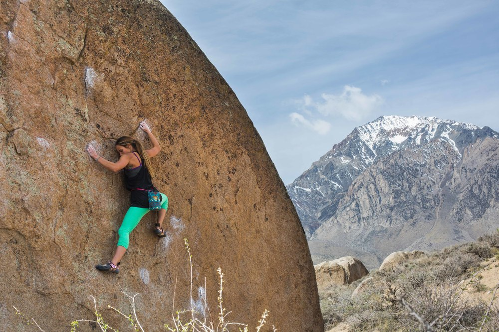 Tammy Wilson rock climbing thisworldexists this world exists mammoth california