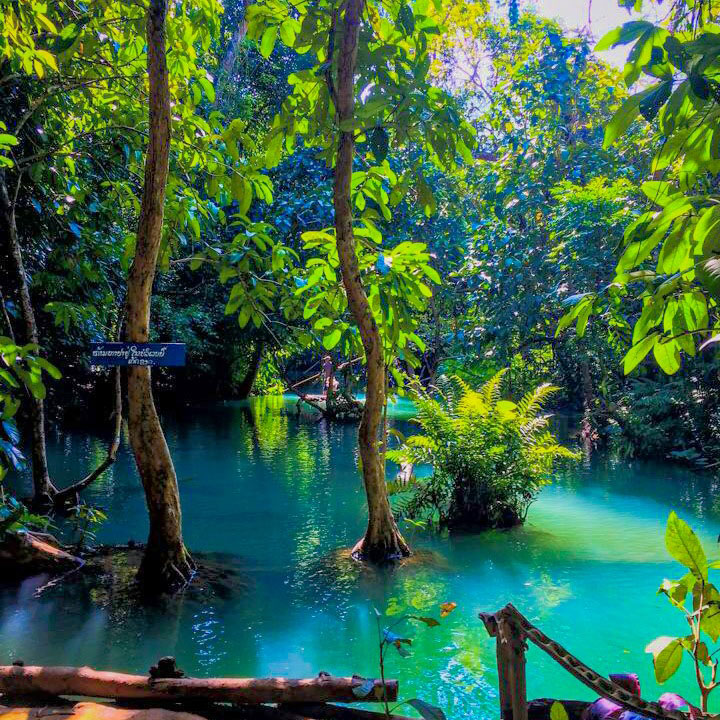 Kuang Si falls lagoon thisworldexists this world exists lauren baxter