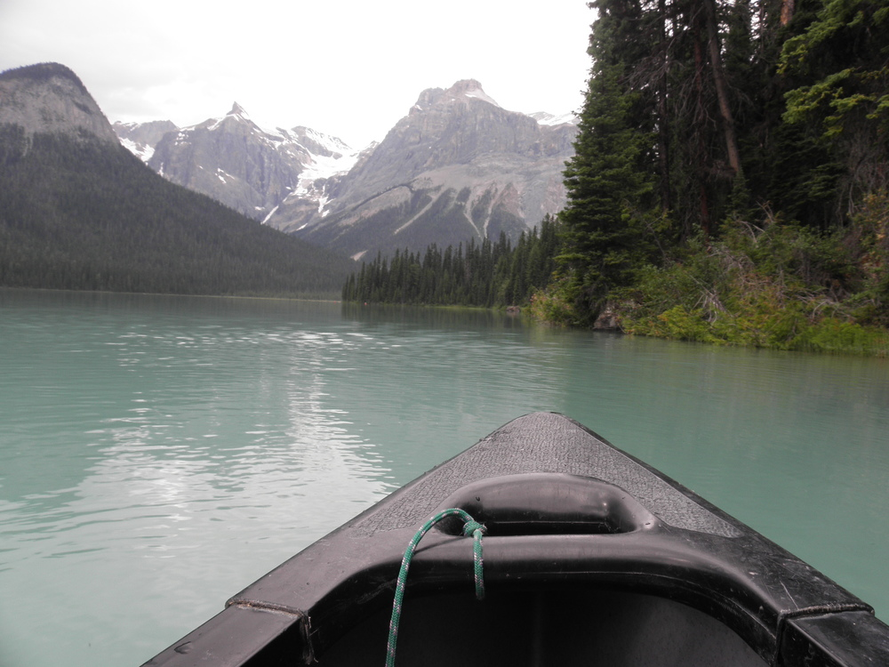 canoeing emerald lake thisworldexists this world exists canada british columbia