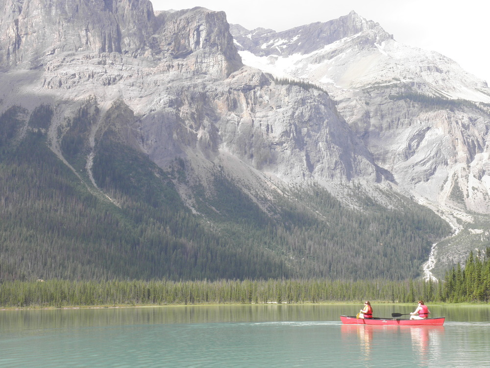 Canoeing british columbia canada emerald lake thisworldexists this world exists