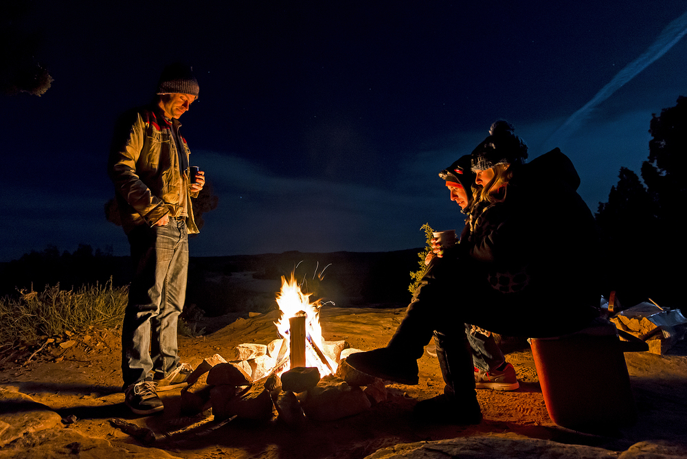 campfire friends utah thisworldexists this world exists kyle jenkins
