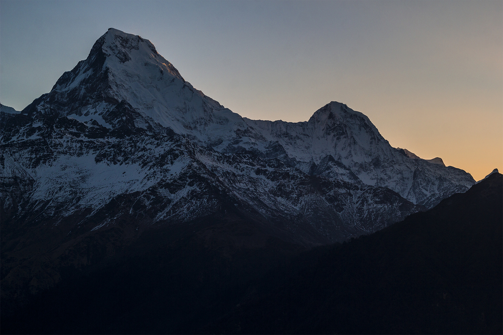 Fishtail sunrise himalaya hiking thisworldexists this w