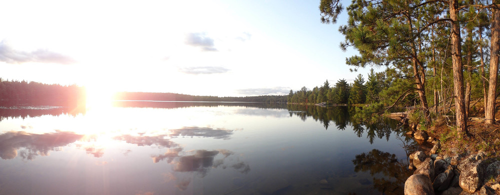 boundary waters minnesota nick ziegler lake lucille