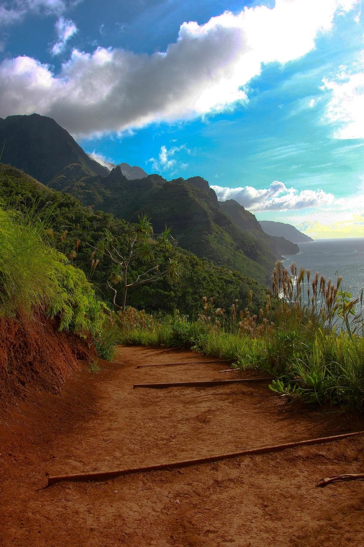 this world exists thisworldexists kalalau hawaii beach hike michael demidenko