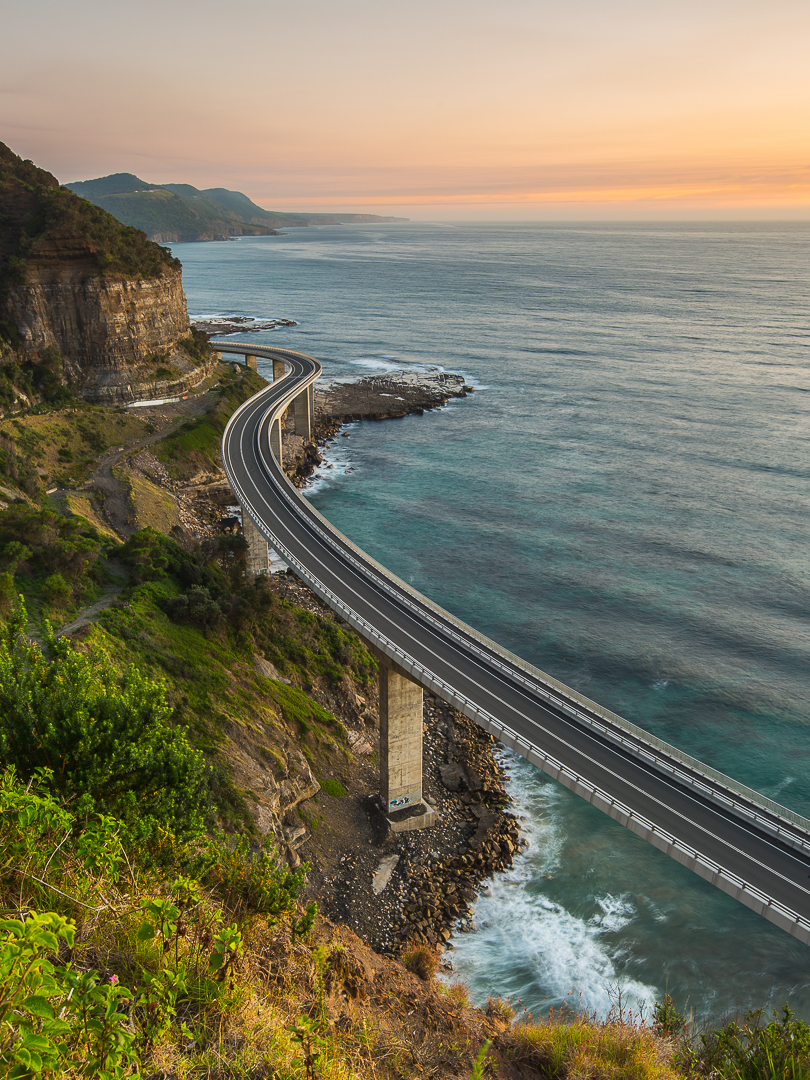 tom jessett thisworldexists australia this world exists sea cliff bridge