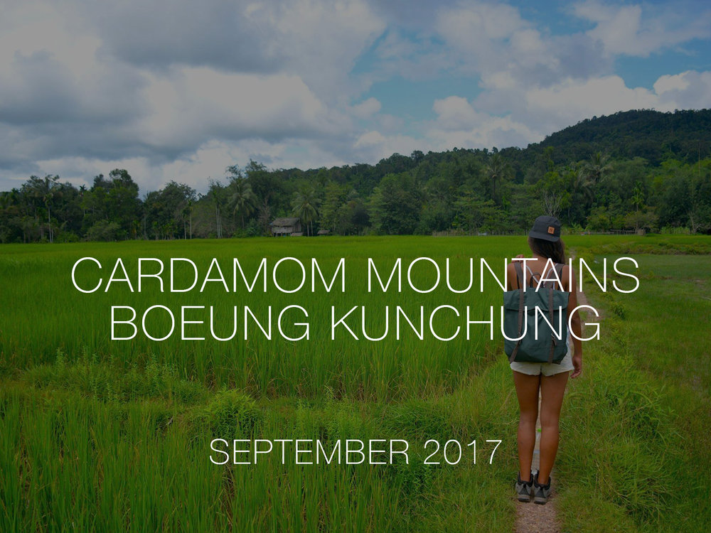 Cambodia jungle trekking volunteer cardamom mountains thisworldexists