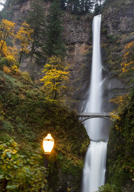 MULTNOMAH FALLS, FALL