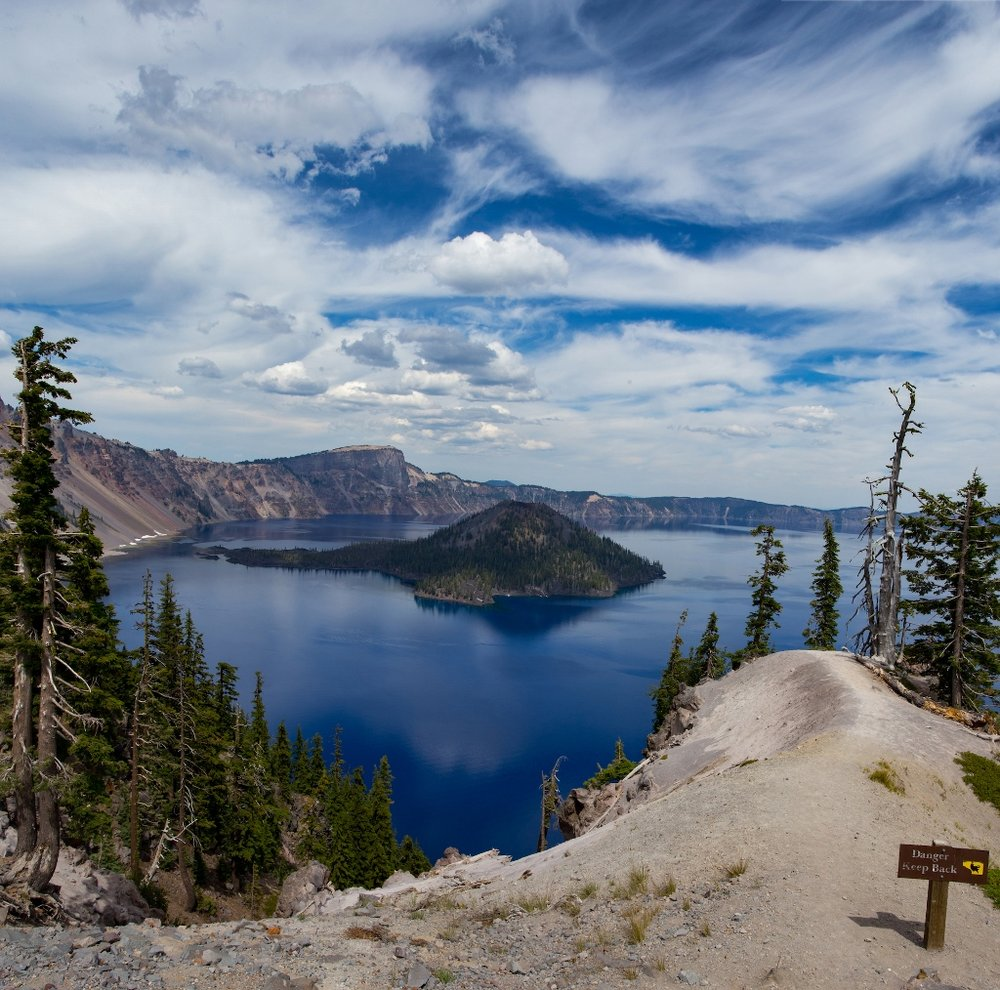 Crater Lake National Park, Summer