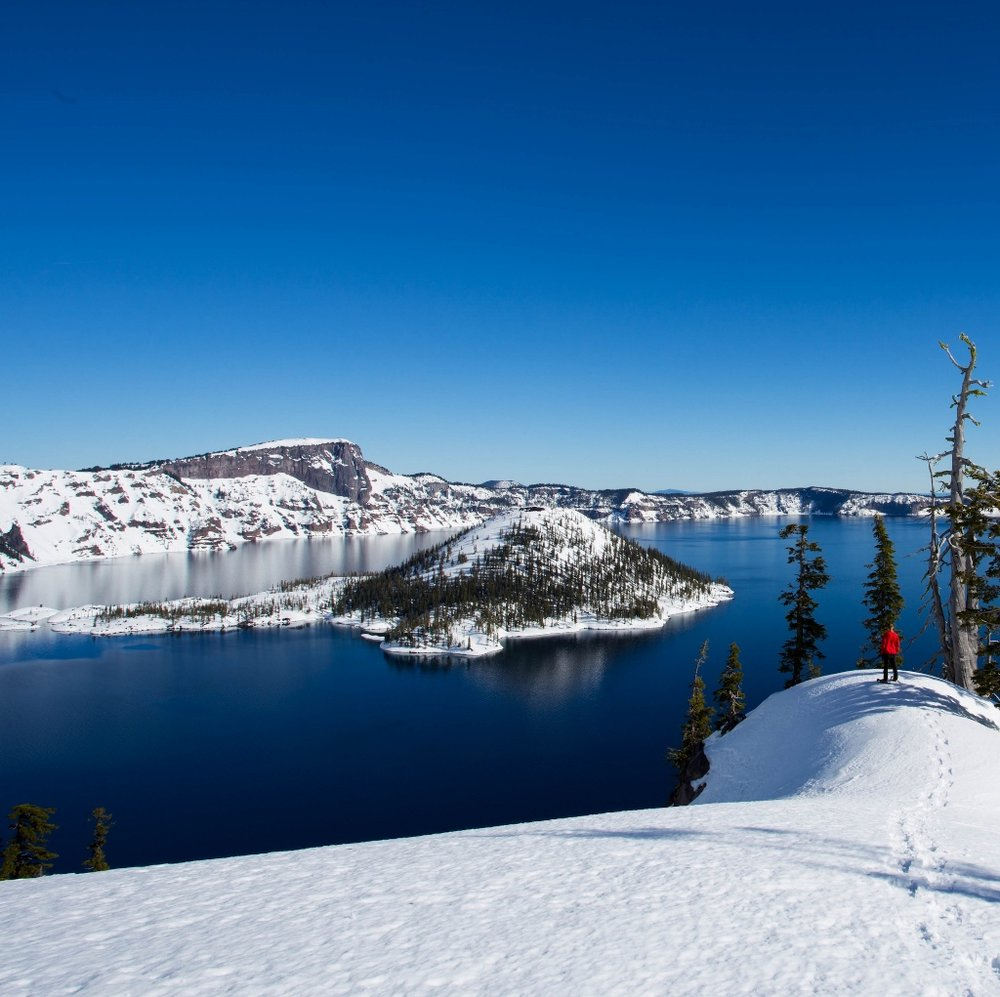 Crater Lake National Park, Winter