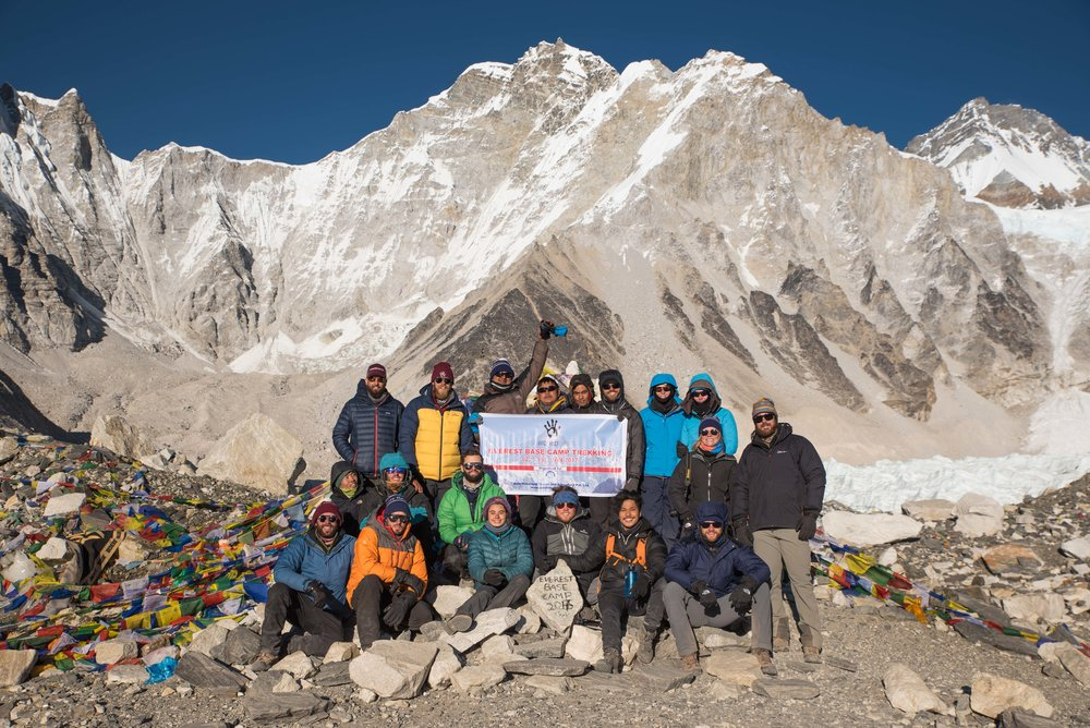 Our team at Everest Base Camp PC @ryangraymedia
