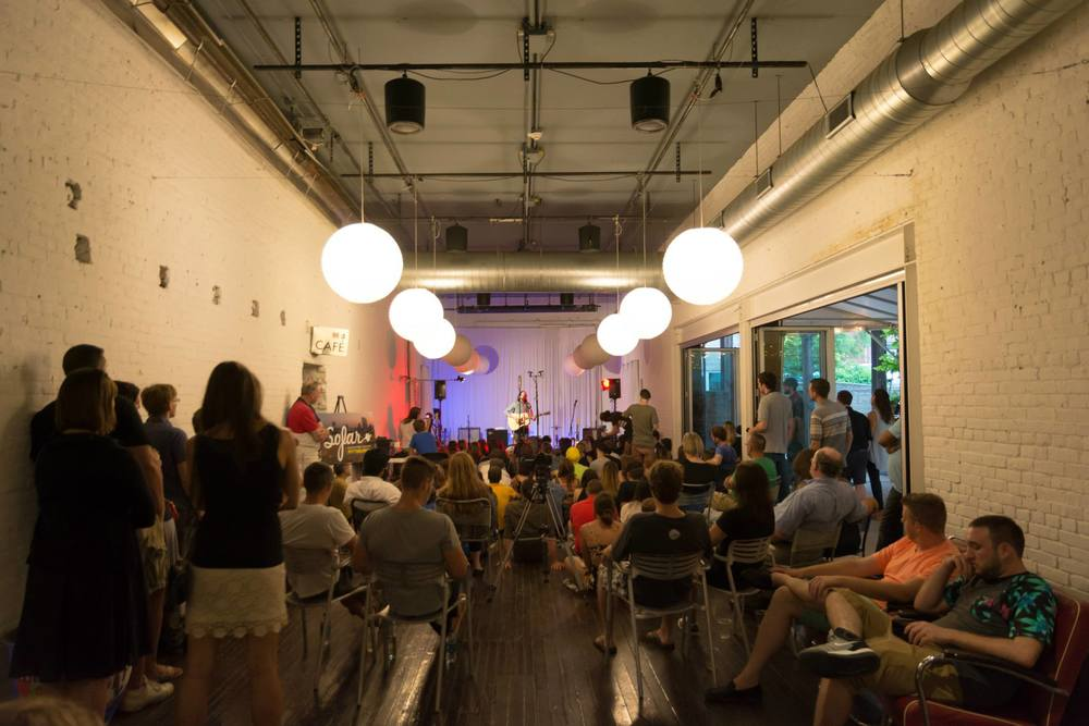 Photo courtesy of Sofar Sounds: Pittsburgh