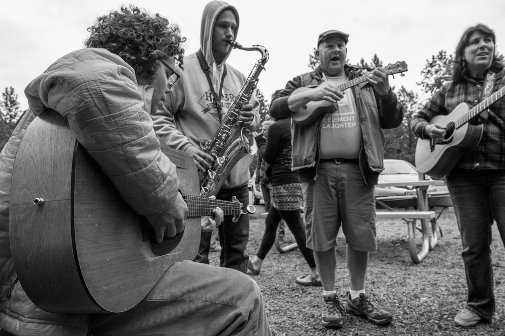 BYO instruments, voice and libations for a rousing Music Jam Friday night with dinner starting at 8 p.m. at Valdez Glacier Campground. Last year's eclectic assembly of instruments including a sax and a ukelele so no instrument is too big or small.