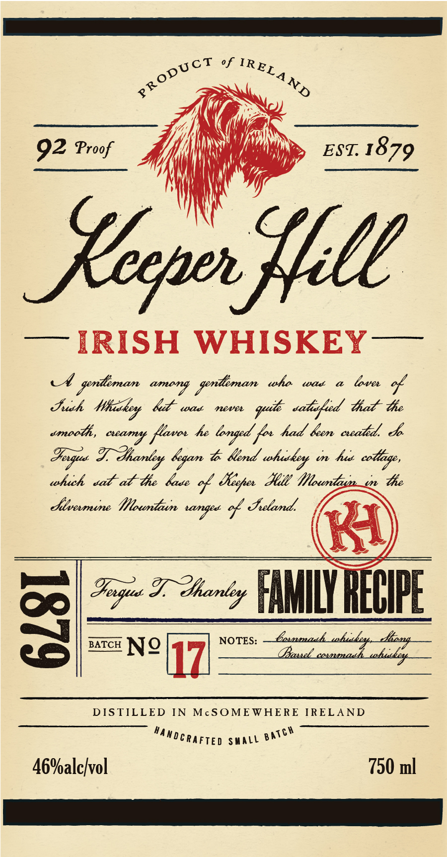 Keeper Hill Irish Whiskey