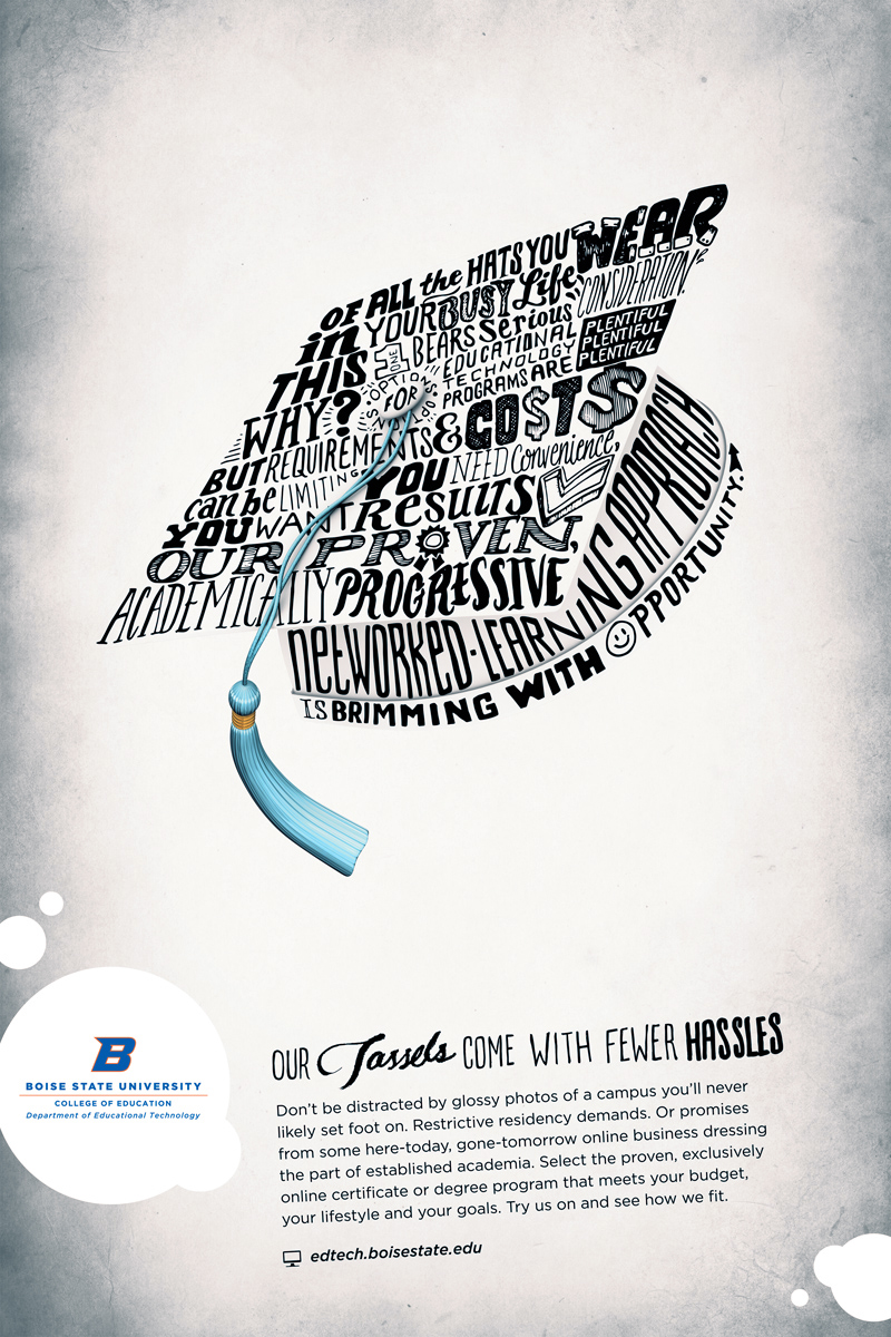 Poster series for Boise State University EDTECH