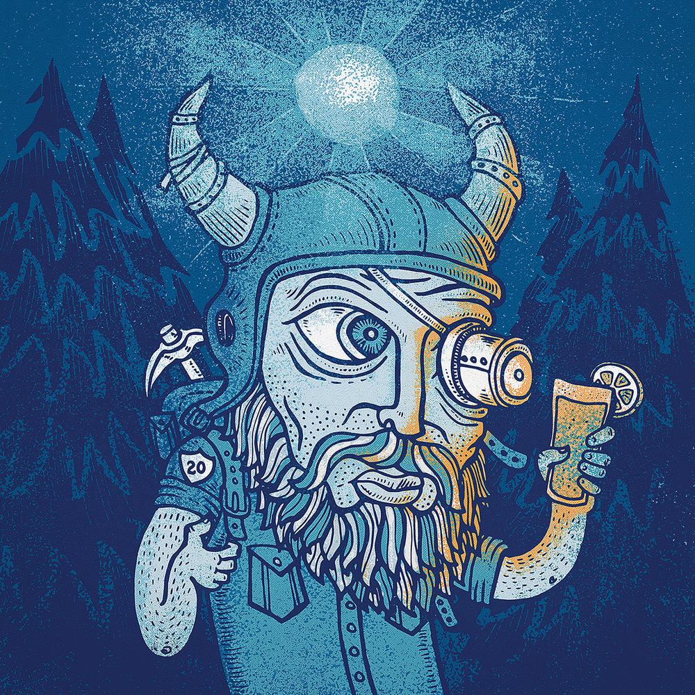 Blue Moon Brewing Co. 20th Anniversary - Artist Series