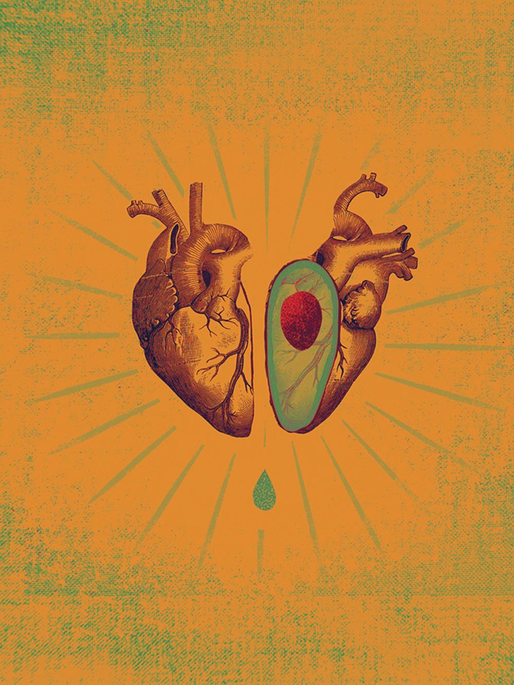 Avacado Heart
