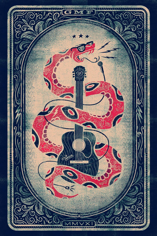 Gasparilla Music Festival Poster 2016
