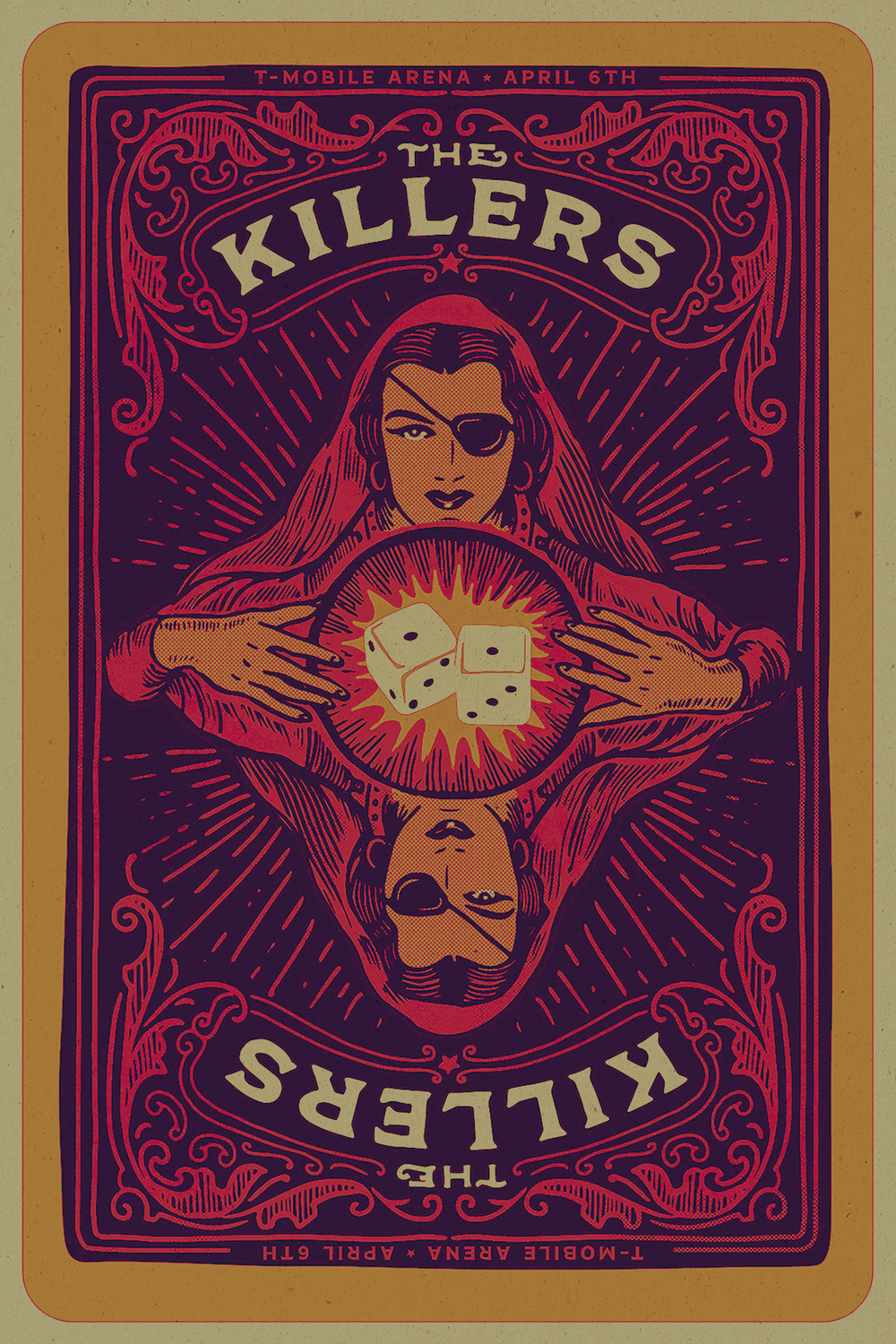 The Killers - Gig poster