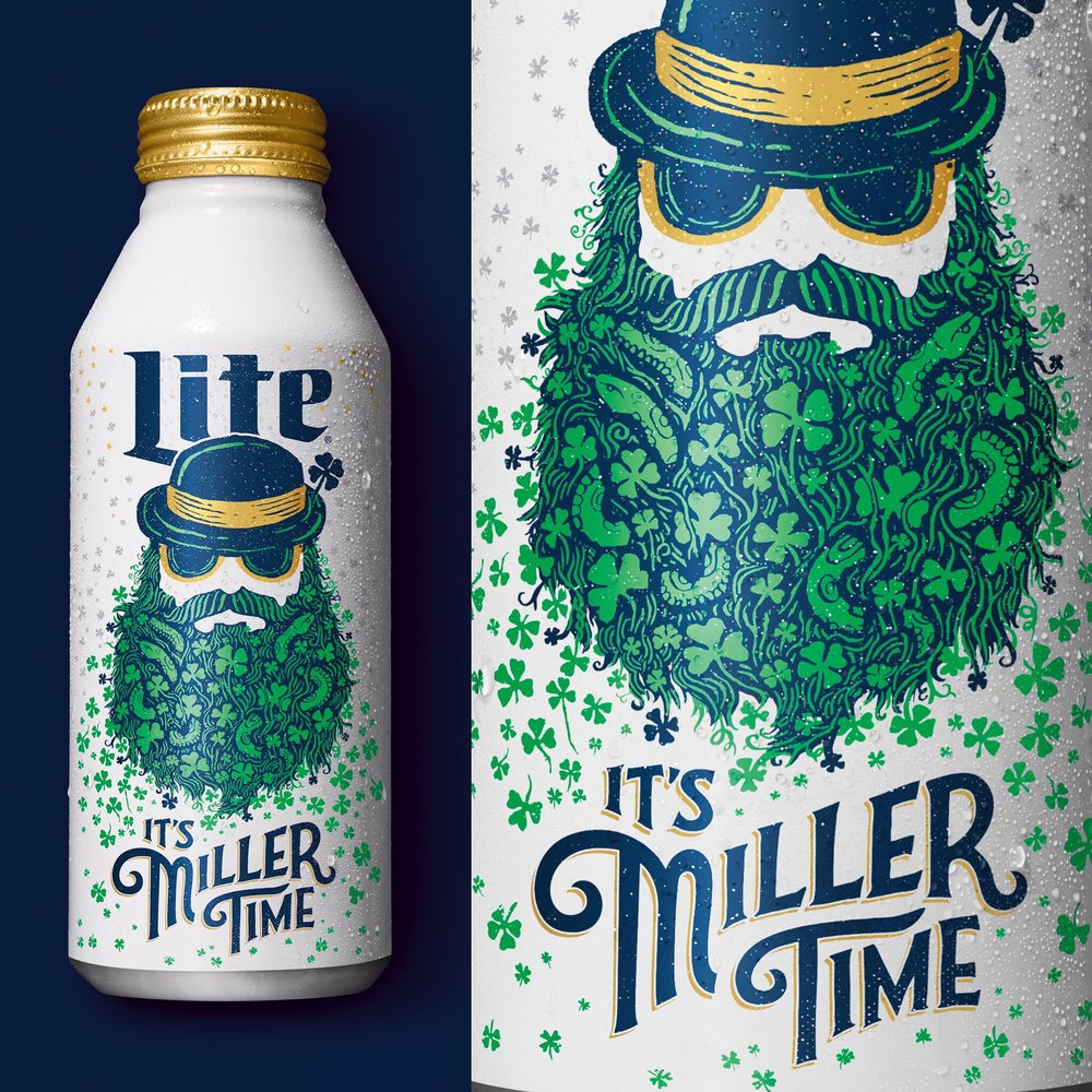 Miller Lite - St Patty's Day