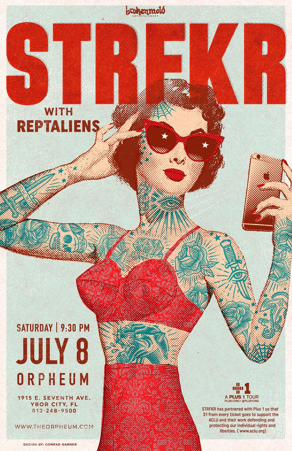 STRFKR poster