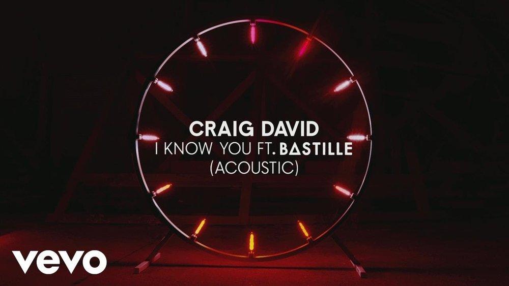 Craig David ft. Bastille 'I know You' acoustic