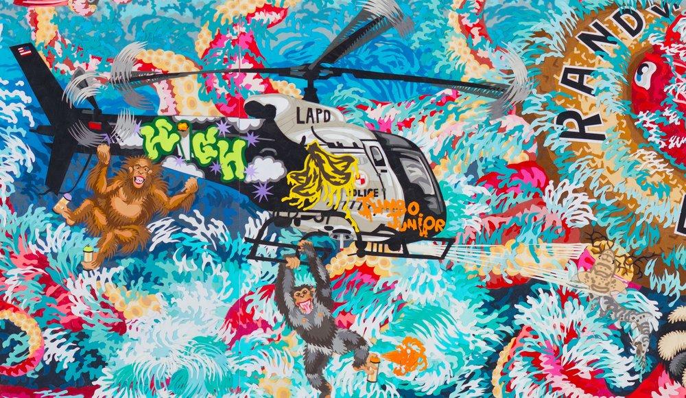 Santa Monica Squid Detail 2