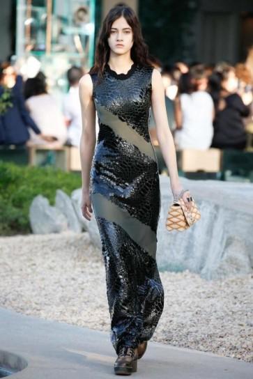 long-dress-nero-glossy