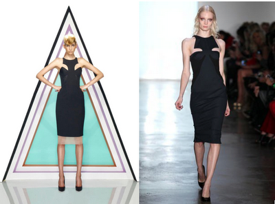 Novakhett for Jaspal (left) & Cushnie et Ochs F/W 2012 (right)