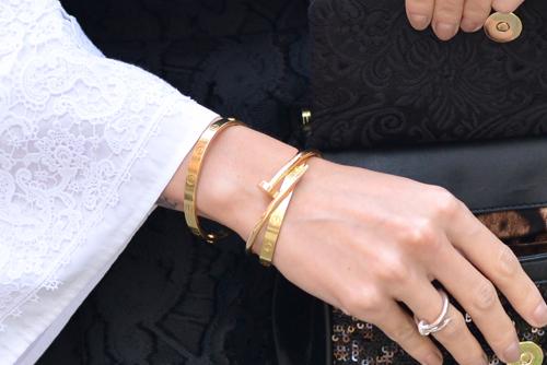 Nail Bangles   Nail Bracelets   Cartier Nail Bangle