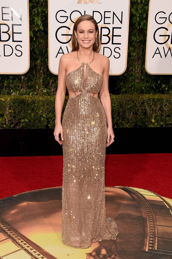 Brie Larson in Calvin Klein Collection
