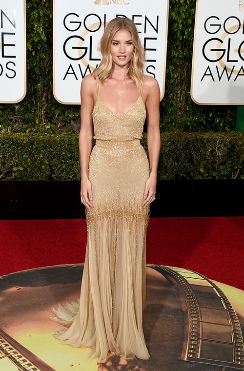 Rosie Huntington-Whitely in Atelier Versace