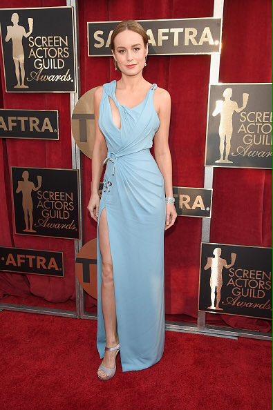 Brie Larson in Atelier Versace