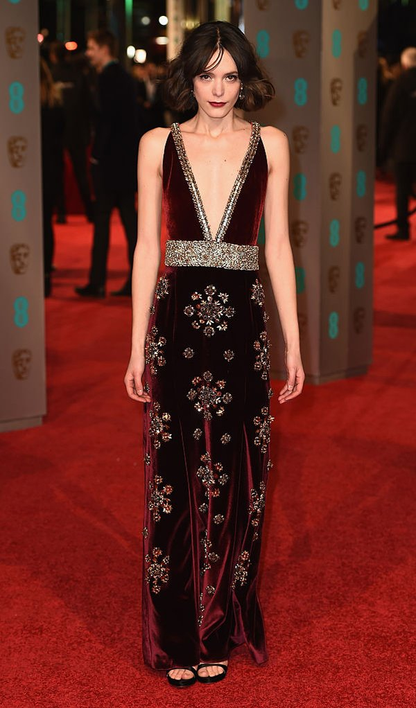 Stacy Martin in Miu Miu