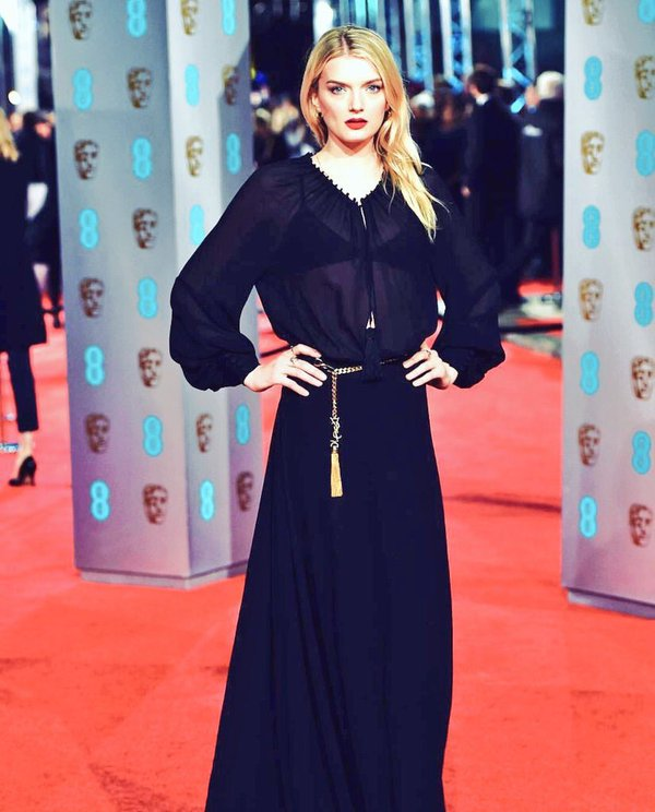 Lily Donaldson in YSL