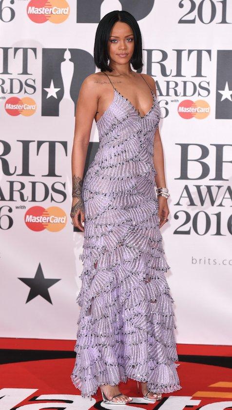 Rihanna in Armani Prive