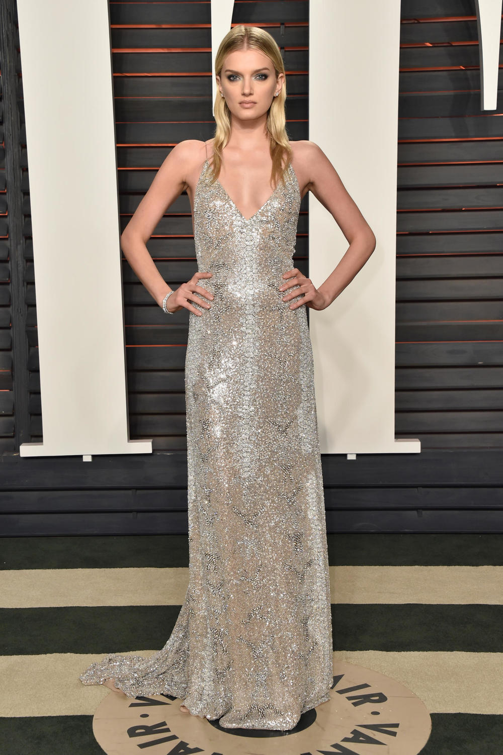 Lily Donaldson in Saint Laurent