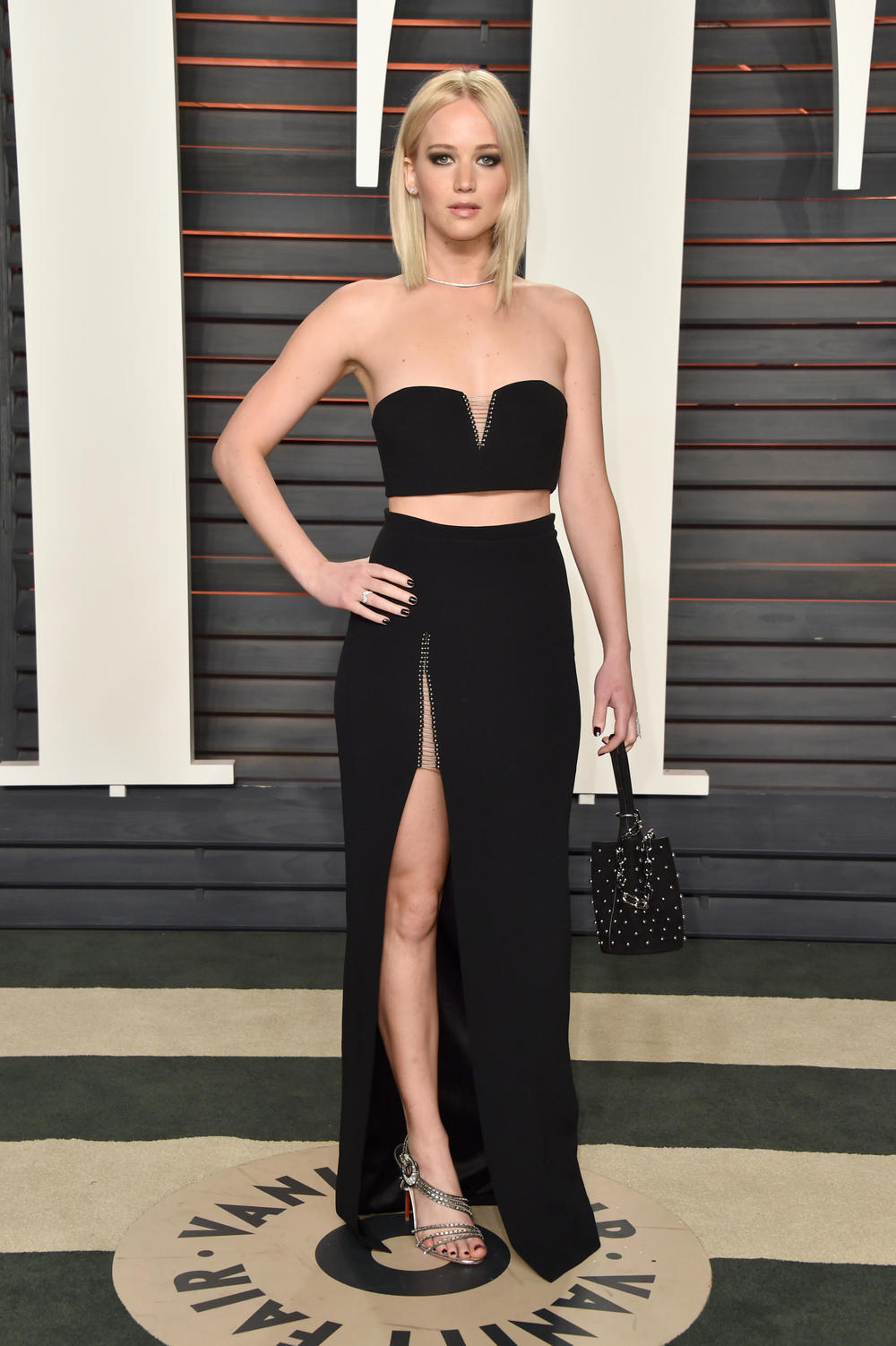 Jennifer Lawrence in custom Alexander Wang