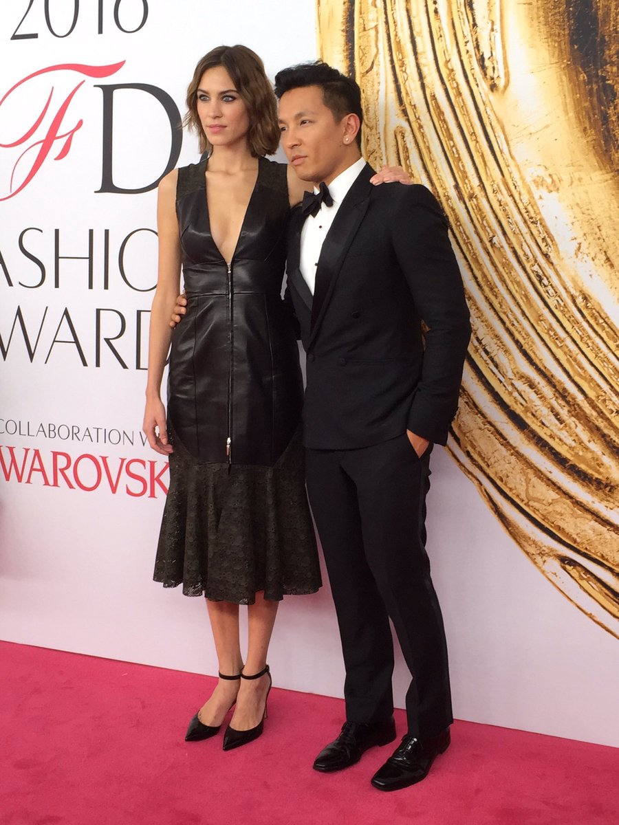 Alexa Chung and Prabal Gurung