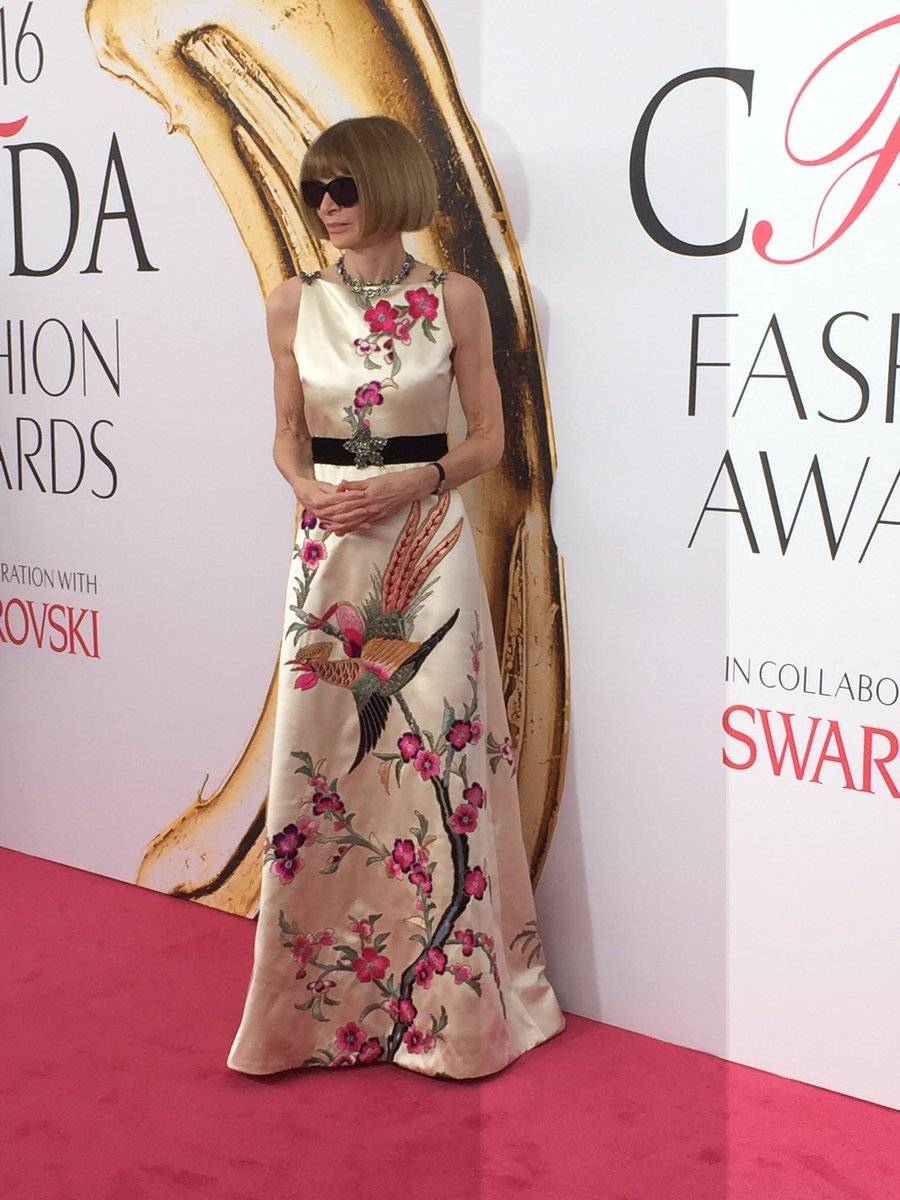 Anna Wintour in Gucci