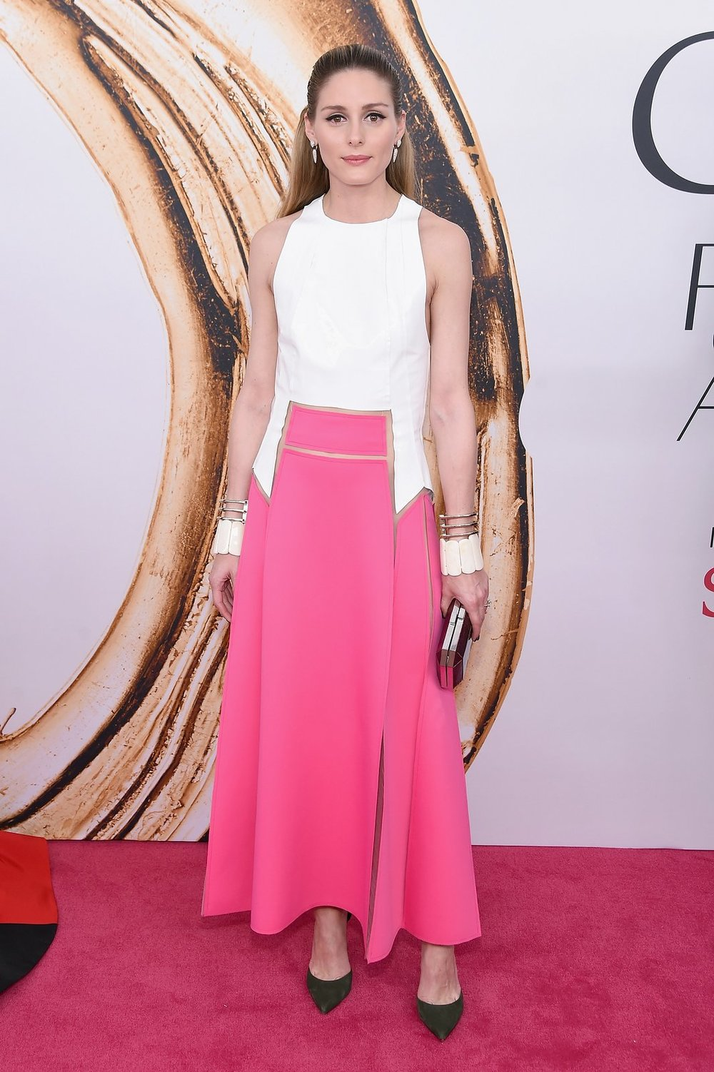 Olivia Palermo in Carolina Herrera