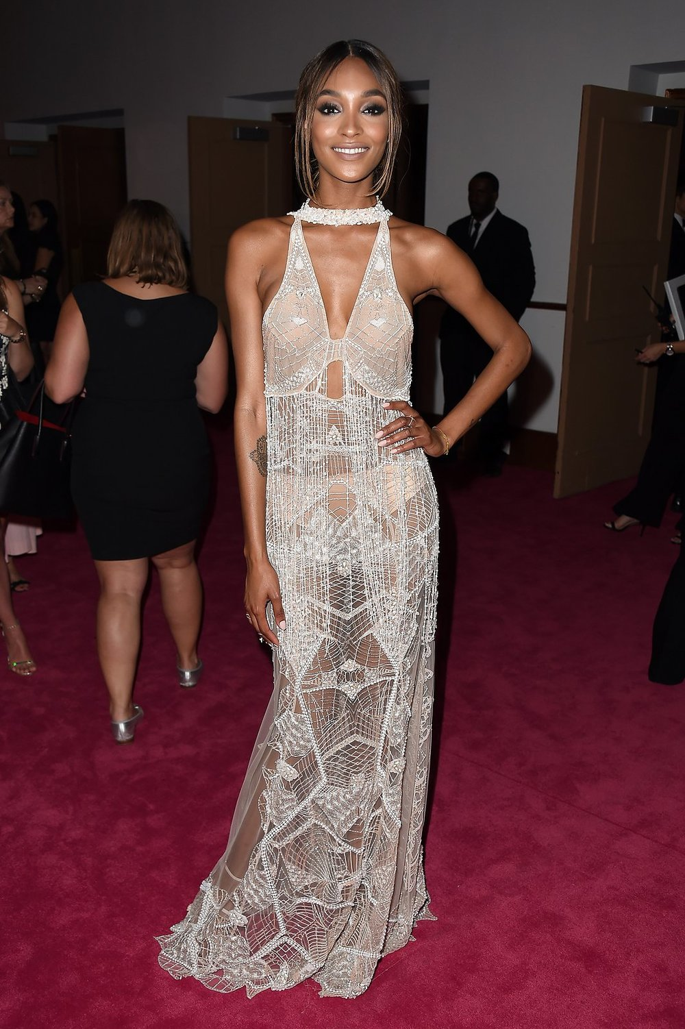 Jourdan Dunn in Jonathan Simkhai