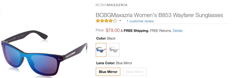 a0322251e85 Luxottica Sues BCBG Max Azria Over Trademark-Protected Wayfarers — The  Fashion Law