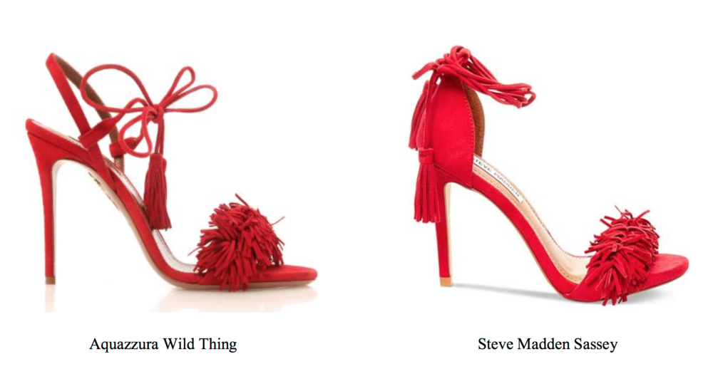 "a1d508d7a69 Per Aquazzura, ""Defendant's predatory business model depends on copying  these and other popular Aquazzura designs, which are virtually identical  but of ..."